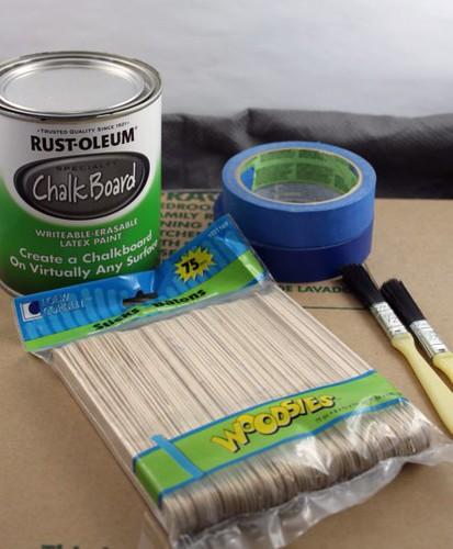 Chalkboard Plant Markers