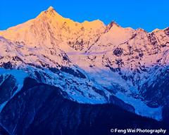 Sunrise Over Kawa Karpo peak, Meri Snow Mountain photo by Feng Wei Photography