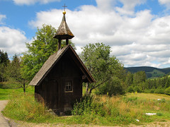 Tiny little wooden Chapel photo by Batikart... off !!!