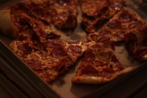 Longo's Pizza After Bike Ride