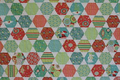 Finished quilt flat photo by Modern Quilting by B