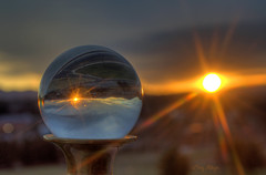 Sunset Gazes Into The Crystal Ball - Roanoke VA Photography Terry Aldhizer photo by Terry Aldhizer