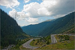 Road through the mountains photo by Stefan Cioata