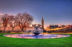 Westminster viewed from St Thomas' Hospital grounds photo by john edward michael1
