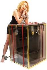 Dayle Krall's Impossible Drum Escape photo by Dayle Krall:Most Accomplished Female Escape Artist