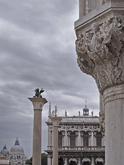Rita Crane Photography:  Italy / Venice / architecture / sculpture / St. Mark the Lion  / Icons of Venice, Piazza San Marco photo by Rita Crane Photography