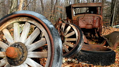 Rusty Truck And Wheels photo by Catskills Photography