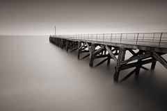 Time and tide wait for no man (Trefor Jetty) photo by Anthony Owen-Jones