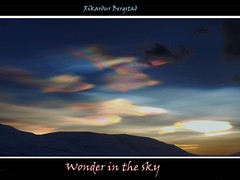 Polar Stratospheric Clouds - ( Nacreous clouds ) - Glitský - Perlumóðurský photo by rikardur>bergstad