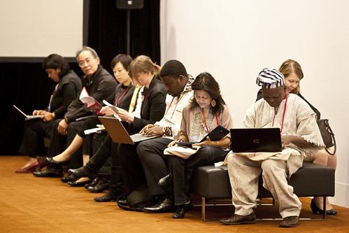 Delegates at the 5th World Summit on Arts and Culture