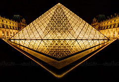 Louvre en OR HDR ~ Paris ~ France ~ Louvre ~by D.F.N. photo by '^_^ D.F.N. Damail ^_^'