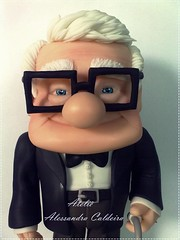 Sr, Fredericksen!Up altas aventuras em biscuit photo by Atelier Alessandra Caldeira