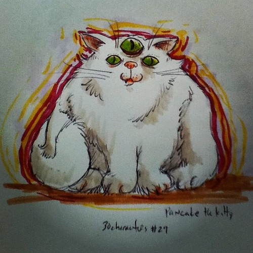 Pancake the kitty #30characters #29