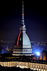 Stunning Mole Antonelliana Dome, Turin - Imponente Cupola della Mole Antonelliana, Torino photo by Sir Francis Canker Photography ©