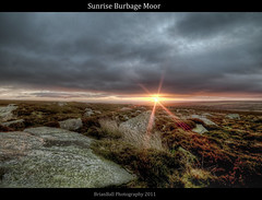 Sunrise Burbage Moor photo by BrianBallPhotography