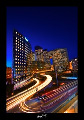 la défense en lumière ~ Paris ~ Défense ~ photo by '^_^ D.F.N. Damail ^_^'