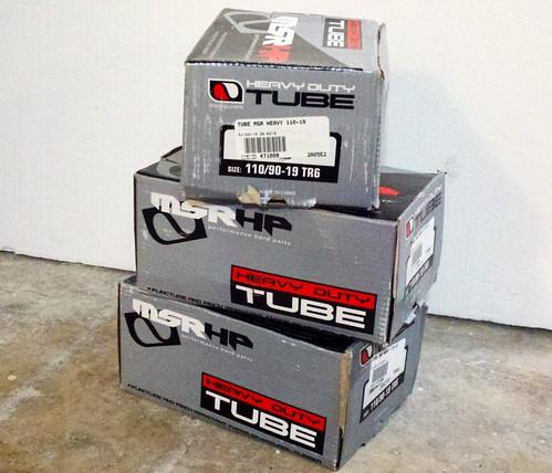 new tubes