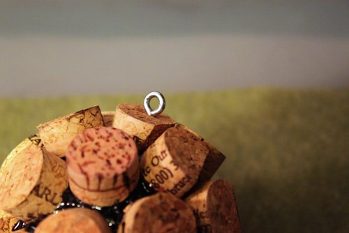 Cork Ball Ornament