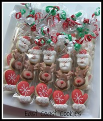 Mini 3 pack Christmas cookies photo by Coastal Cookie Shoppe (was east coast cookies)