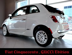 Fiat Cinquecento GUCCI Edition Expored #25 photo by amsandy.... Rosey's Exposures