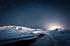 Winter Night In Iceland photo by KristjánFreyr