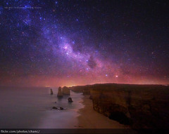 Milky Way over the Twelve Apostles, Victoria photo by Christopher Chan