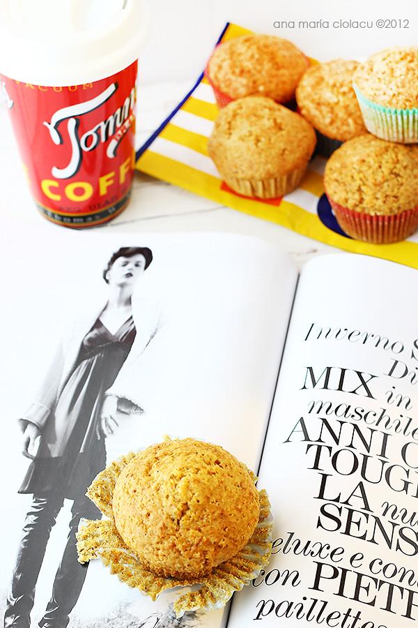 Low fat carrot muffins 3