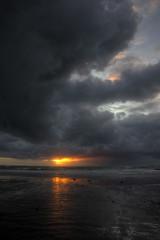 jersey sunset over english channel photo by mariusz kluzniak