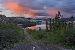 Late Evening Storm on the Yukon River photo by kdee64