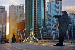 Vancouver City Skyline at Convention Centre photo by TOTORORO.RORO