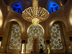 Abu Dhabi, Sheikh Zayed Grand Mosque -   أبو ظبي‎ مسجد الشيخ زايد photo by Sir Francis Canker Photography ©