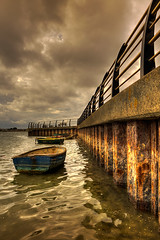 Harbour wall photo by Mark Leader