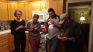 Vawdreys and woodcut, not phones
