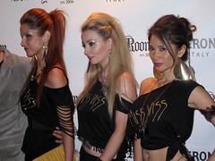 Left to right - Miss-Viss designer, models Tor Alexander, Josie Lee photo by josielee