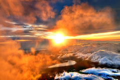 Majestic Sunrise from the Summit of Mount Fuji photo by Sprengben [why not get a friend]