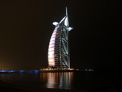 White Burj al Arab - Unusual photo by Sir Francis Canker Photography ©