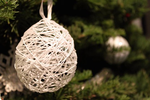 String Holiday Ornament