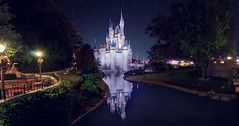 cinderella castle @night (explored) photo by EddyMixx