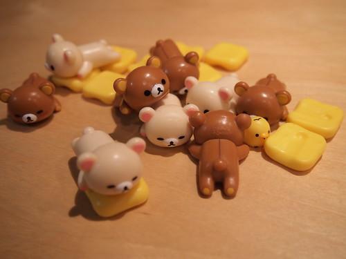 リラックマ懶懶熊疊疊樂