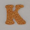 Christmas Sparkle letter K
