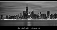 Chicago in B+W photo by w4nd3rl0st (InspiredinDesMoines)