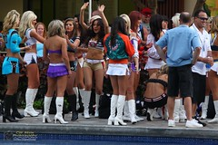 2012 Pro Bowl Cheerleaders photo by CW Abas Photography