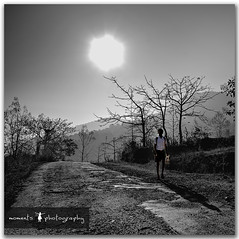 walking towards progress... photo by PNike (Prashanth Naik..back after ages)
