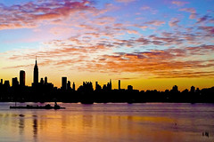 NYC Skyline, Dawn  #12 photo by andertho