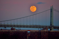 Full Moon over Queens photo by benalesh1985