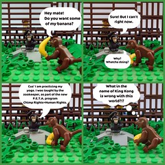 Monkey Business - A Lego Comic photo by .Bricko