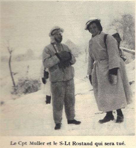BM 21 - 1945 - Alsace-  Capitaine Muller et Sous-lieutenant Rostand - Ohneheim Source - 1ere dfl épopée d'une reconquete