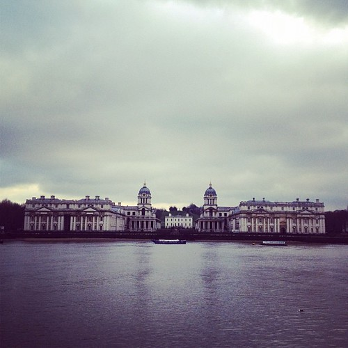 Naval college (view from a detour)