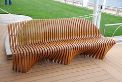 Teak Deck Chair Aboard the Celebrity Equinox on a Transatlantic Cruise photo by Corvair Owner