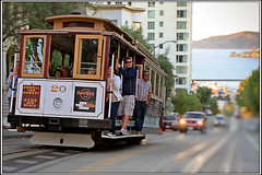 [Classic SF Shot]:  The Cable car photo by SergeK 